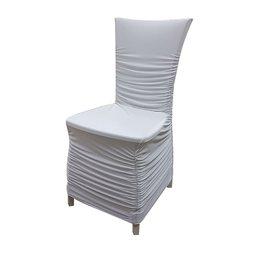 Фото Чехол на стул - белый