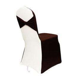 Фото Чехол на стул - шоколад